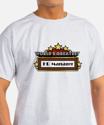 World's Greatest HR Manager T-Shirt