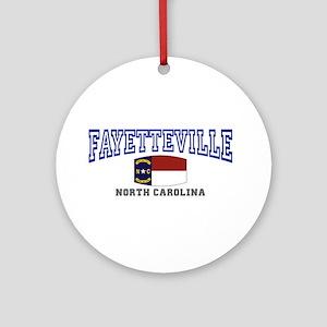 Fayetteville, North Carolina, NC, USA Ornament (Ro
