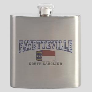 Fayetteville, North Carolina, NC, USA Flask