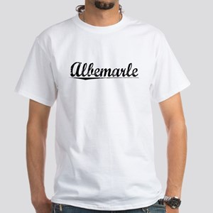 Albemarle, Vintage White T-Shirt