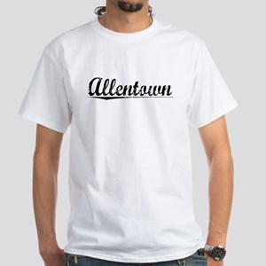 Allentown, Vintage White T-Shirt