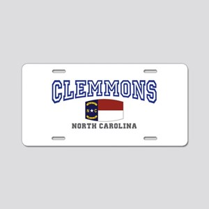 Clemmons, North Carolina, NC, USA Aluminum License