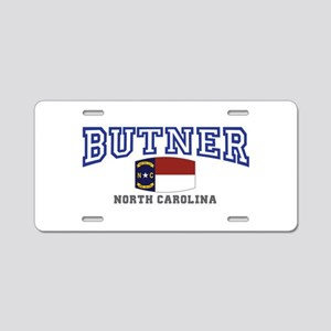 Butner, North Carolina, NC, USA Aluminum License P