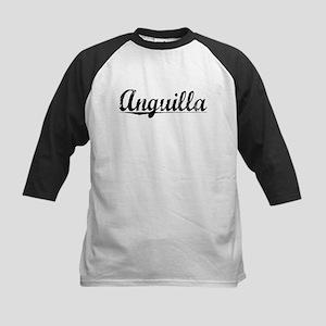 Anguilla, Vintage Kids Baseball Jersey
