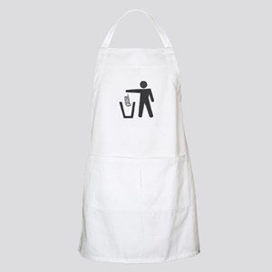 "Anti-Cell Phone - ""Pitch In"" BBQ Apron"