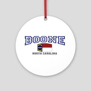 Boone, North Carolina, NC, USA Ornament (Round)