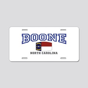 Boone, North Carolina, NC, USA Aluminum License Pl