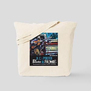 Terry Harmonica Bean Tote Bag