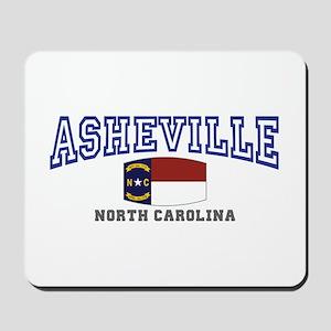 Asheville, North Carolina, NC, USA Mousepad
