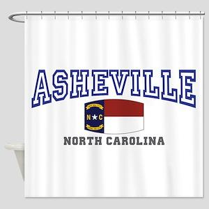 Asheville, North Carolina, NC, USA Shower Curtain