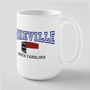Asheville, North Carolina, NC, USA Large Mug