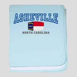 Asheville, North Carolina, NC, USA baby blanket