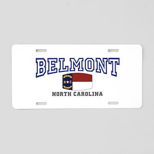 Belmont, North Carolina, NC, USA Aluminum License