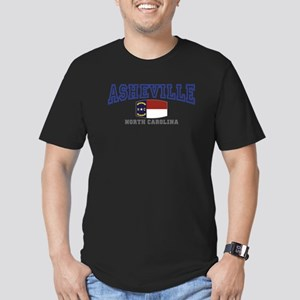 Asheville, North Carolina, NC, USA Men's Fitted T-