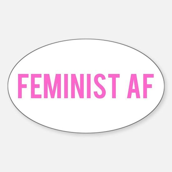 Feminist AF Bumper Decal Decal
