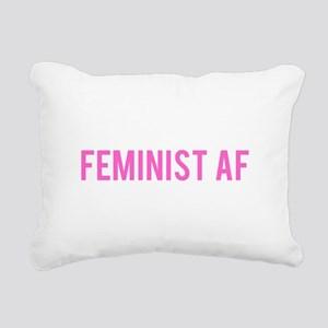 Feminist AF Bumper Sticker Rectangular Canvas Pill