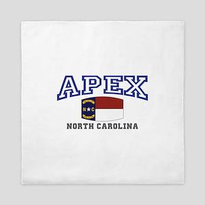 Apex, North Carolina, NC, USA Queen Duvet