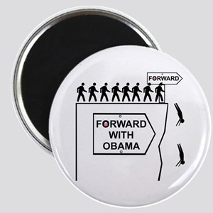 Forward With Obama Magnet