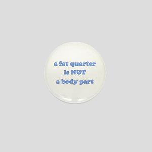 Fat Quarter (quilting) Mini Button