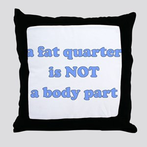 Fat Quarter (quilting) Throw Pillow