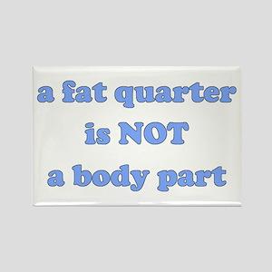 Fat Quarter (quilting) Rectangle Magnet