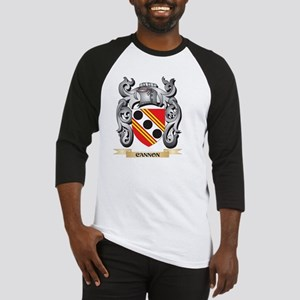 Cannon Family Crest - Cannon Coat Baseball Jersey
