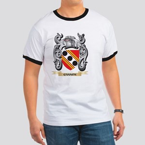 Cannon Family Crest - Cannon Coat of Arms T-Shirt