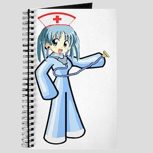 Anime Nurse with Stethoscope Journal