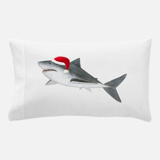 Christmas - Santa Shark Pillow Case