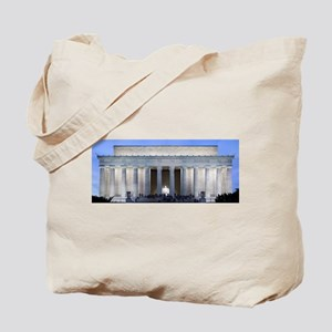 Lincoln Memorial Tote Bag