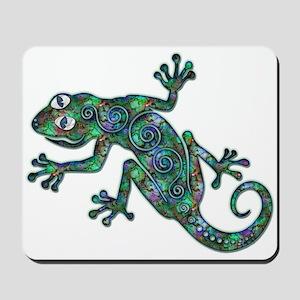 Decorative Chameleon Mousepad