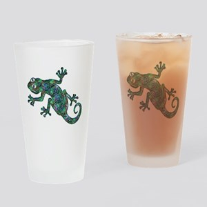 Decorative Chameleon Drinking Glass