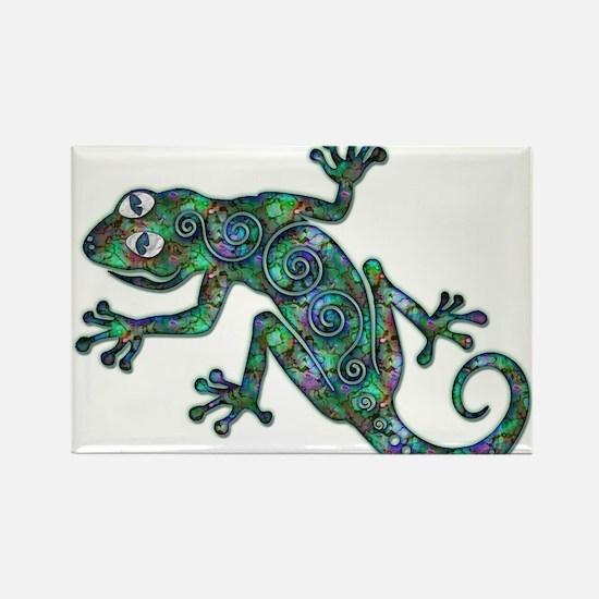 Decorative Chameleon Rectangle Magnet