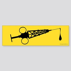 Hypo-Derrick (Black/Yellow) Sticker (Bumper)