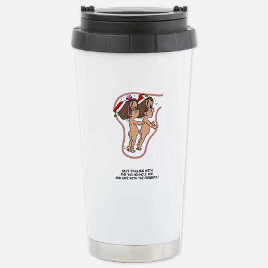 Give Presents Brunet Stainless Steel Travel Mug