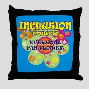 Inclusion Power Throw Pillow