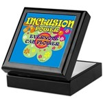 Inclusion Power Keepsake Box