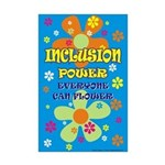 Inclusion Power Mini Poster Print