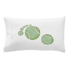 Tennis Footprint Pillow Case