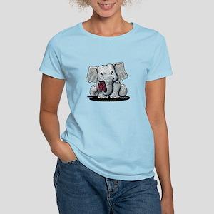 KiniArt Elephant Women's Light T-Shirt