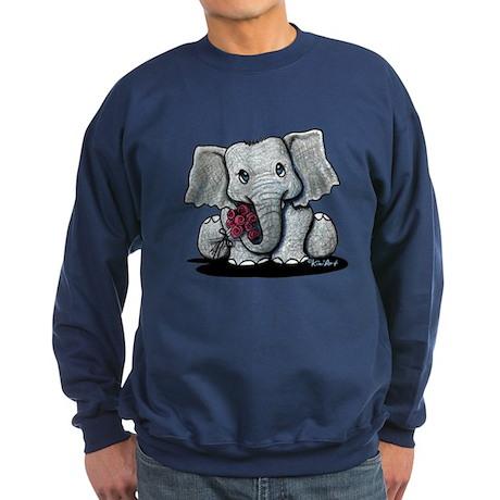 KiniArt Elephant Sweatshirt (dark)