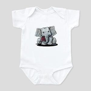 KiniArt Elephant Infant Bodysuit