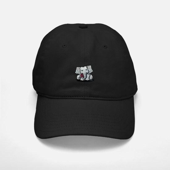 KiniArt Elephant Baseball Hat