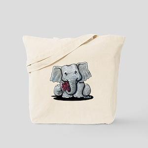 KiniArt Elephant Tote Bag