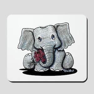 KiniArt Elephant Mousepad