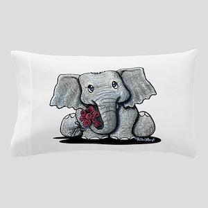 KiniArt Elephant Pillow Case