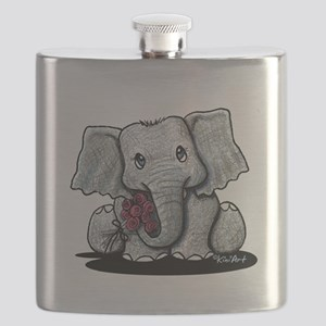 KiniArt Elephant Flask