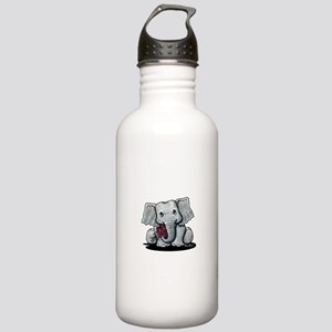 KiniArt Elephant Stainless Water Bottle 1.0L