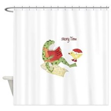 Frog - Story Time Shower Curtain