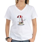 Pavlovs dogs tee Women's V-Neck T-Shirt
